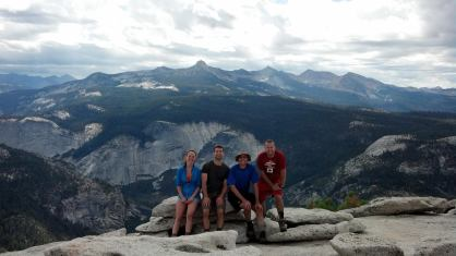 Top of Half Dome 2013